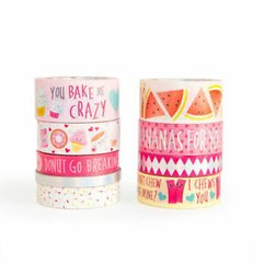 Punny Fruits Washi Tape Tube