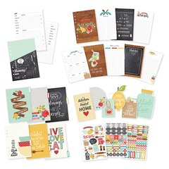 Recipe A5 Planner Insert Set