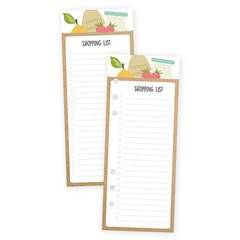 Shopping List Bookmark Tablet - comprar online
