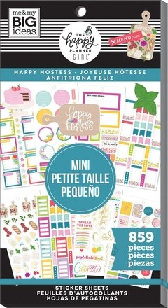 Value Pack Stickers - Happy Hostess - Mini