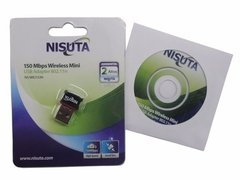 Ns-wiu153n Nisuta Placa de Red Usb Nano Wireless 150 Mbps 65mw en internet