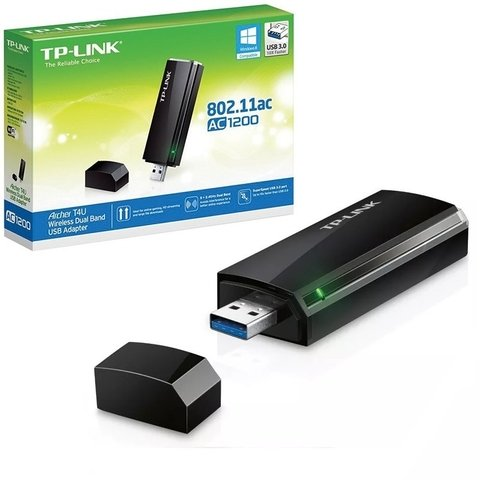 Archer T4u Tp-Link Placa de Red Usb Wifi Dualband 5.8 y 2.4