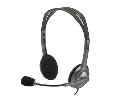 H110 Logitech Auriculares Headset Microfono Skype Telefonia
