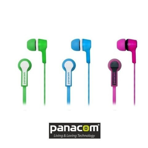 Hp9333 Panacom Auriculares Micrófono In Ear Cable Aux Plano