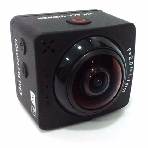 Camara Kelyx Kl360 Action Cam 1080p Full Hd Captura 360° - ARROW