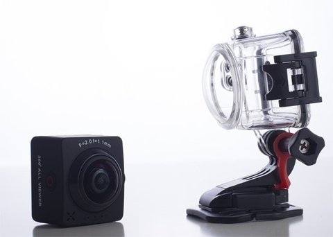 Camara Kelyx Kl360 Action Cam 1080p Full Hd Captura 360° en internet