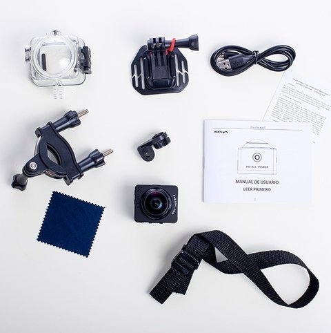 Imagen de Camara Kelyx Kl360 Action Cam 1080p Full Hd Captura 360°