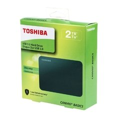 2tb Toshiba Disco Rigido Externo Canvio Basic Usb 3.0