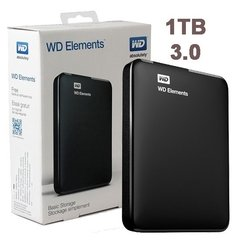 1tb Wd Disco Rigido Externo Western Digital Elements Usb3.0