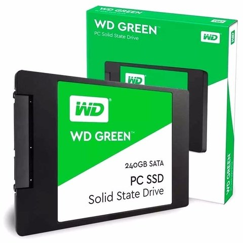 Ssd Wd 240gb Green Disco Solido Sata Western Digital Interno