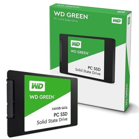 Ssd Wd 120gb Green Disco Solido Sata Western Digital Interno