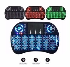 MW-SMARTKEY Mini Teclado MOW Android Inalambrico Touchpad Smart Tv Luz Led - comprar online