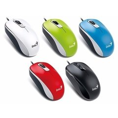 Dx 110 Genius Mouse Usb Optico Colores