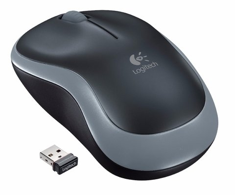 M185 Logitech Mouse Optico Wireless Usb Inalambrico Nano