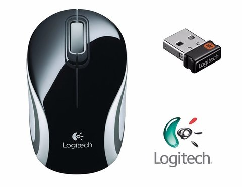M187 Logitech Mini Mouse Wireless Inalambrico Nano Receptor