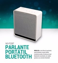 Ng-p22bt Noga Parlante Portatil Bluetooth Recargable 3w - ARROW