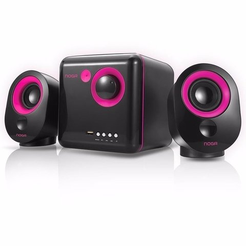 ML-3300C Noga Parlantes 2.1 10 Wtts Bluetooth Varios Colores