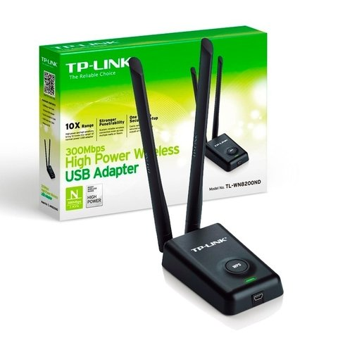 Tl-wn8200nd Tp-link Placa De Red Wifi 300 Mbps Adaptador Usb