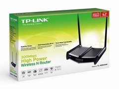 Router TL Wr841hp Tp Link Wifi 300mbps 841hp Rompe Muros