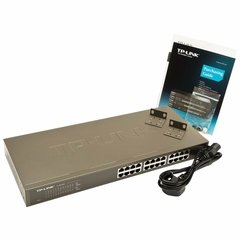 Tl-sg1024 Tp-link Switch Rackeable 24 Port Gigabit 10/100/1000 - comprar online