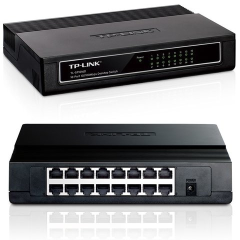 TL Sf1016d Tp-link Switch 16 Puertos Ethernet10/100 Sf 1016