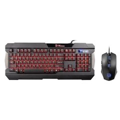 KB-CCM-PLBL Thermaltake Kit Teclado Mouse Commander Tri-color