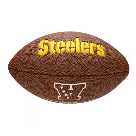 ... Bola Futebol Americano NFL Pittsburgh Steelers Wilson - WTF1 - comprar  online 76c270a4fabf7