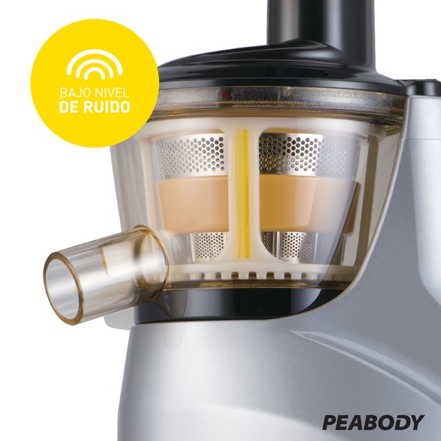 Juguera Slow juicer Peabody by Hurom - Plata PE-HSJ02 - Peabody Store