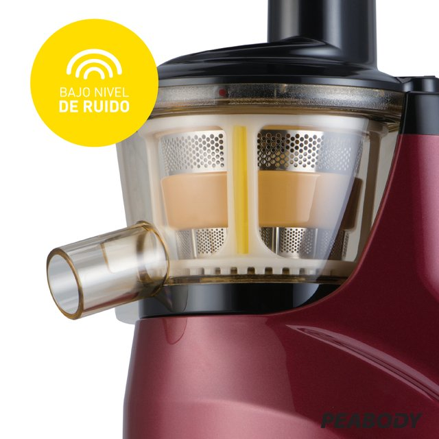 Juguera Slow juicer Peabody by Hurom   - Bordo PE-HSJ03 - Peabody Store
