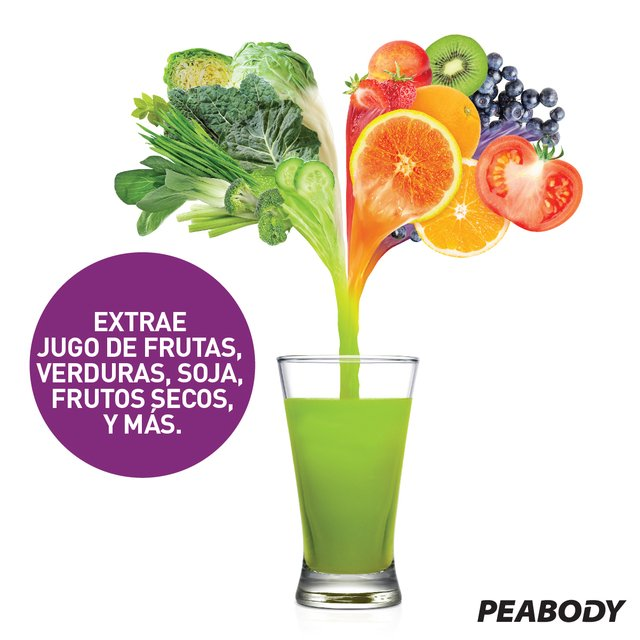 Juguera Slow juicer Peabody by Hurom   - Bordo PE-HSJ03