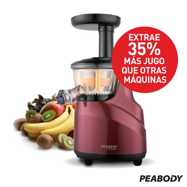 Juguera Slow juicer Peabody by Hurom   - Bordo PE-HSJ03 en internet