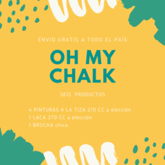 KIT Oh My Chalk - 6 Productos