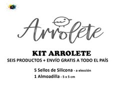 KIT  ARROLETE - 6 Productos - comprar online