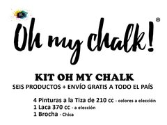 KIT Oh My Chalk - 6 Productos en internet
