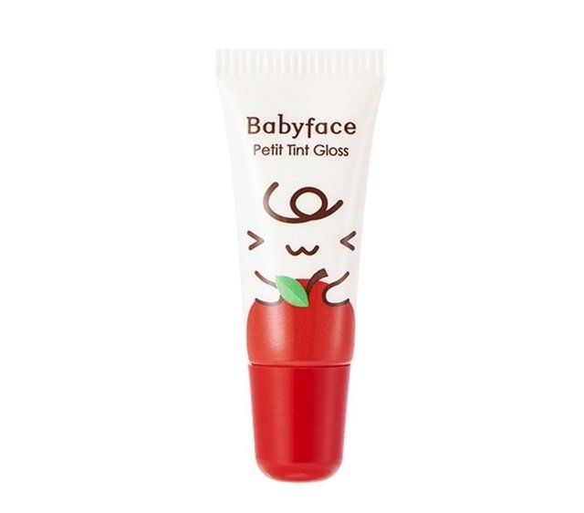 Lip Tint Babyface Petit Tint Gloss (IT'S SKIN) 8g  #01 Apple Juice - Cacto de Caramelo