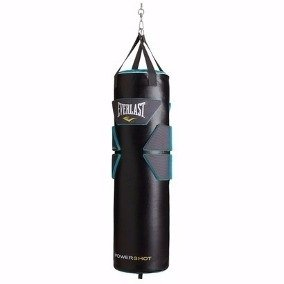 Bolsa De Boxeo Everlast Powershot Gel Shell 80 Lbs + Regalo