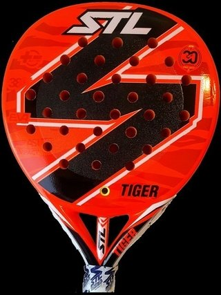 Paleta De Padel Custom Steel Tiger 2017
