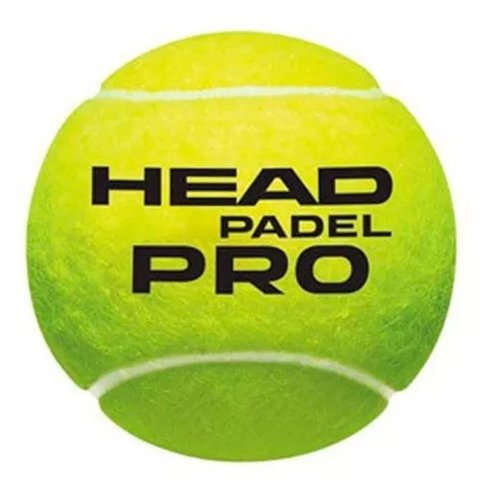 Tubo De Head  Padel Pro World Padel Tour 3 Balls Premium - Greek Deportes