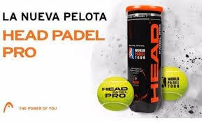 Tubo De Head  Padel Pro World Padel Tour 3 Balls Premium