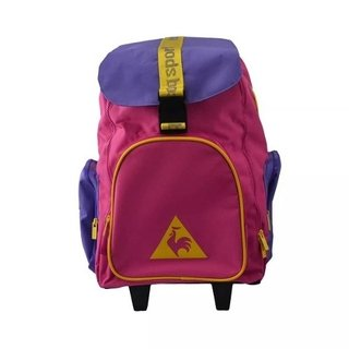 Mochila Le Coq Sportif Colors Wheels Backpack - Pink/purple
