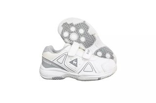 Zapatillas Le Coq Sportif Nils Strap Jr - White Grey