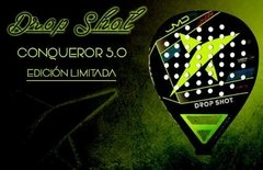Paleta Padel Drop Shot Conqueror 5.0 Limited Edition + Funda