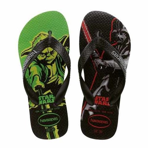 Ojotas Havaianas Star Wars Kids - Originales