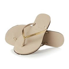Havaianas You Metallic Ojotas For Women Golden GREEK DEPORTES