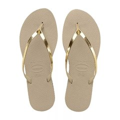 Havaianas You Metallic Ojotas For Women Golden GREEK DEPORTES - comprar online