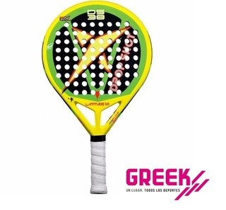 Paleta De Padel Drop Shot Latitude 1.0 + Cubregrip GREEK DEPORTES