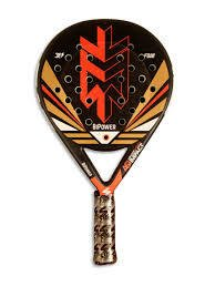 Paleta De Padel Steel Custom Bipower Con Funda + Regalo