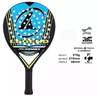 Paleta Padel Pro Kennex Kinetic Pro Legend Funda Y Regalos GREEK DEPORTES