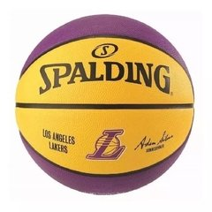 Peltota de Basquet Spalding Teams N7 Lakers / Warrios en internet