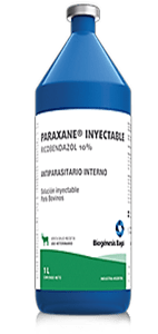 PARAXANE® INYECTABLE Antiparasitario Interno